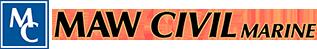 Maw Civil Marine Logo
